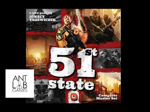 51st State Master Set Solo Playthrough