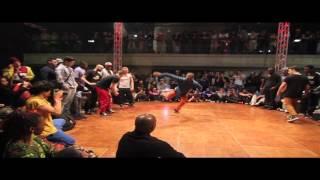 Final Juste Debout 2012 BBoy Dedication. Lil Kev & Abdel vs Tao & John Smith