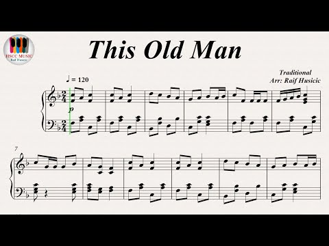 This Old Man (Knick knack Paddy whack), Piano