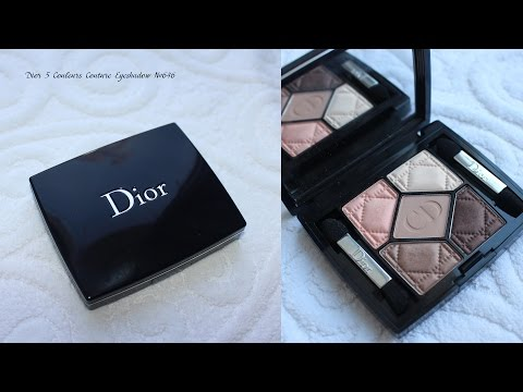 Тени Люкс Dior 5 Couleurs Couture Eyeshadow 609 и 646