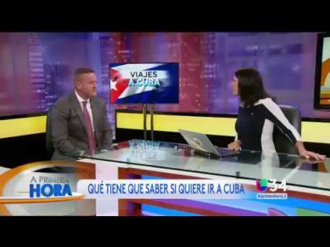 Travelucion.com on Univision (Los Angeles) re Cuba travel tips