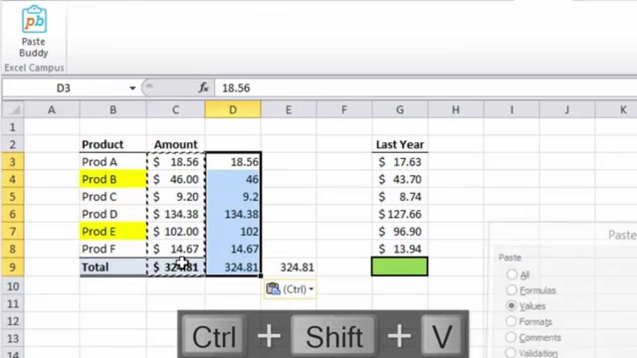 excel specific keyboard shortcuts Excel-specific keyboard shortcuts ctrl selecting cells select current region around active cell extend selection by one cell extend selection to last nonblank cell extend selection to start of row extend selection to top left extend selection to last cell used select the entire column select the entire row only select active cell extend.