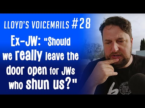 "Ex-JW: ""Should we really leave the door open for JWs who shun us?"""