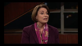 One-on-One with Amy Klobuchar   Real Time with Bill Maher (HBO)