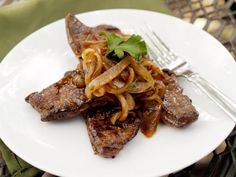 How Jamaicans Cook Liver And Onions
