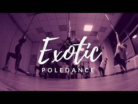 Beginner Exotic Poledance to Sal Houdini ft. Rihanna I just