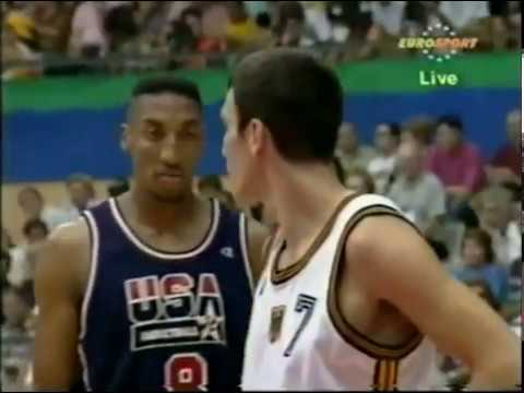 1992 Dream Team vs Germany - Barcelona Olympics Game 3