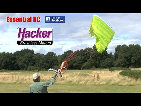 Hacker 3m RC *POWERED* PARAGLIDER