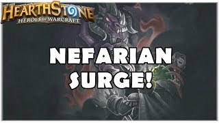 HEARTHSTONE - TAVERNA NEFARIAN SURGE!