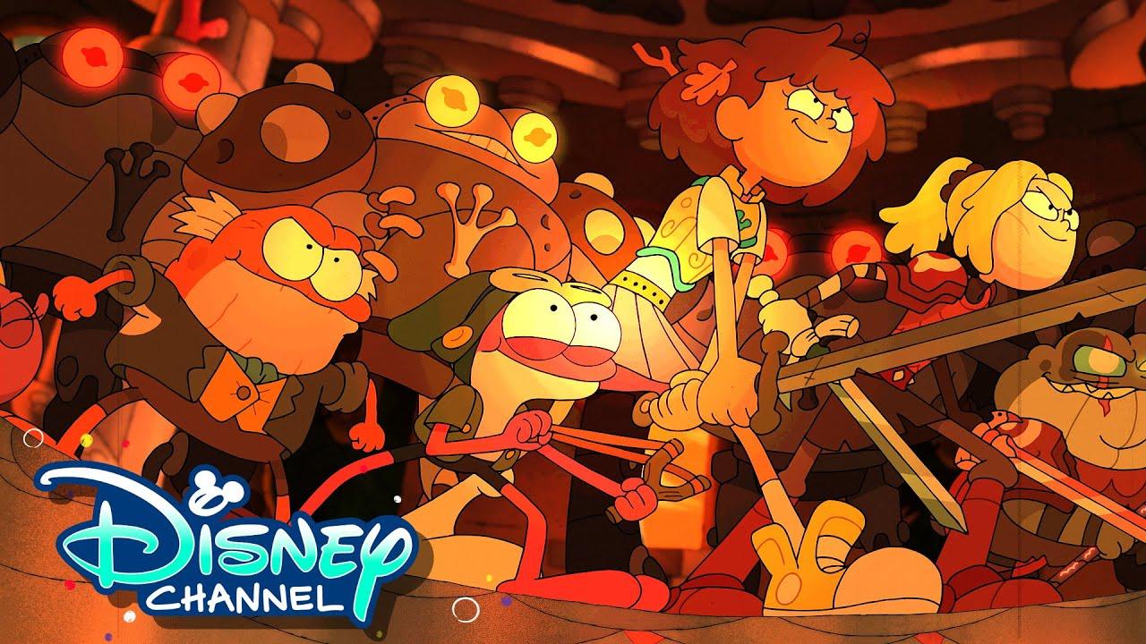 Download Season 3 Sneak Peek   Amphibia   Disney Channel Animation
