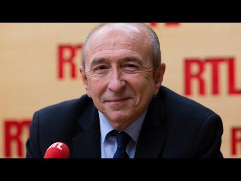 Gérard Collomb était l'invité de RTL