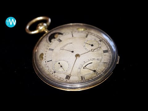 A very rare 1831 Breguet pocket watch at Sotheby's Important Watches auction held in Geneva