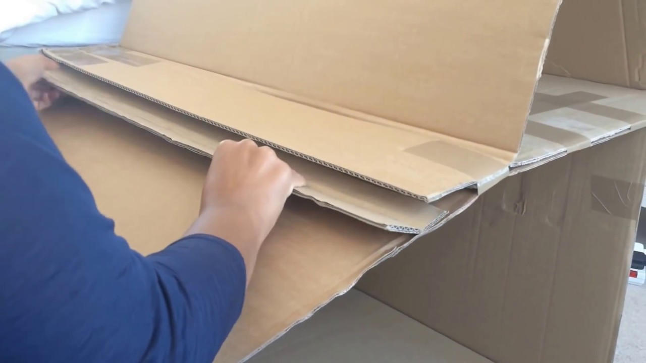homemade barbie furniture ideas. DIY: Modern Doll House (recycled Cardboard Box) \u0026 Diy Furniture - YouTube Homemade Barbie Ideas H