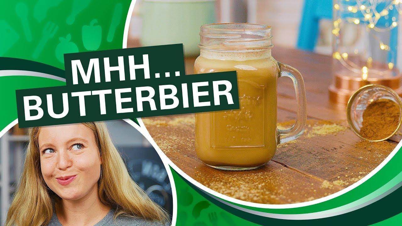 butterbier ruck zuck selber machen mit thermomix rezept einfachthermomix youtube. Black Bedroom Furniture Sets. Home Design Ideas