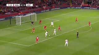 Wales vs spain 1-4 FULL HIGHLIGHTS