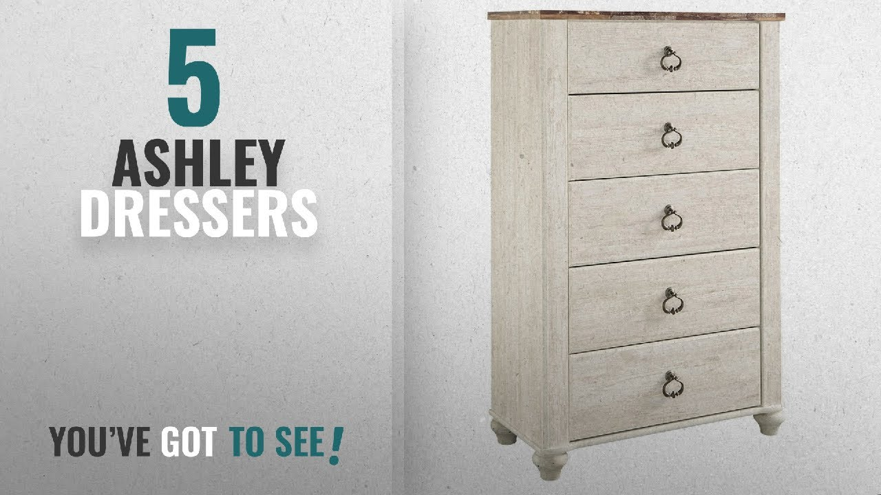 Top 10 Ashley Dressers 2018 Furniture Signature Design Willowton Chest Of Drawers