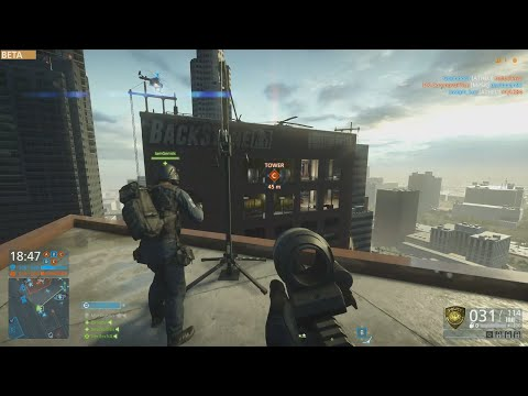 How to Steal a Point w/ a Zip-line | Battlefield Hardline Beta