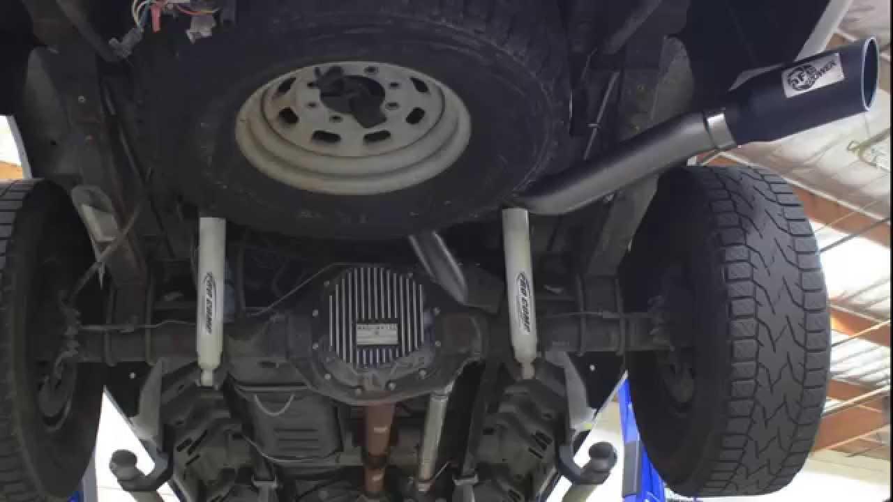 Afe Power 1999 2004 Ford F 250 F 350 V8 5 4l V10 6 8l Exhaust System Sound Clip Youtube