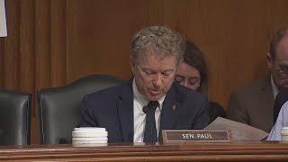 Dr. Fauci, Rand Paul argue at COVID hearing