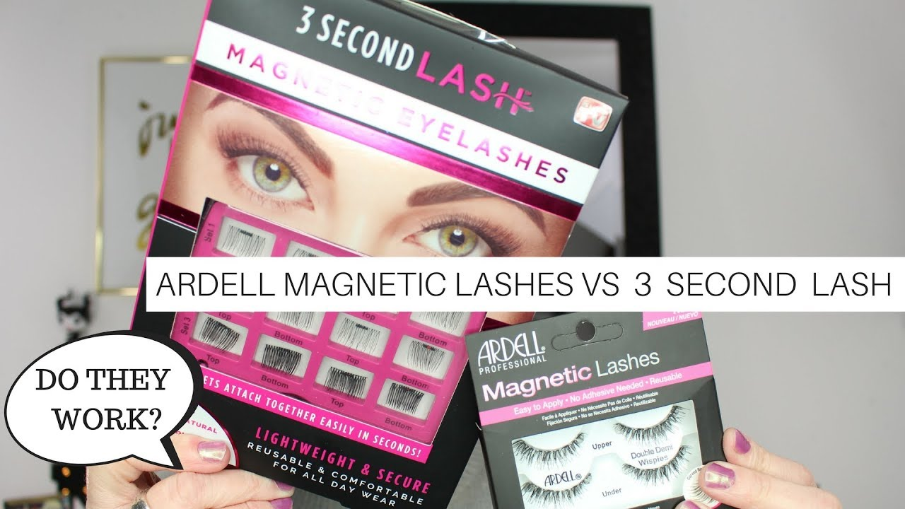 45a54d75c0d Ardell Magnetic Lashes VS 3 Second Lash   Nicole Chantell - YouTube