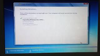 Tutorial install windows 7 di notebook acer aspire