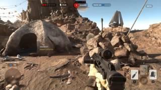 Star Wars Battlefront Beta recording test with Mirillis Action