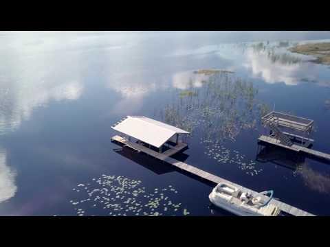 Lake Mary Jane, Orlando, Florida Aerial Footage