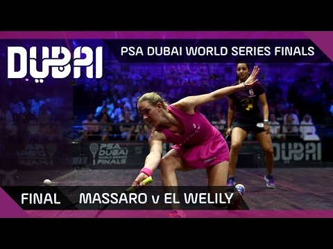 Squash: Massaro v El Welily - PSA Dubai World Series Finals - Women's Final Highlights