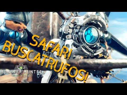 Guía Safari de Buscatrufos! Monster Hunter World!