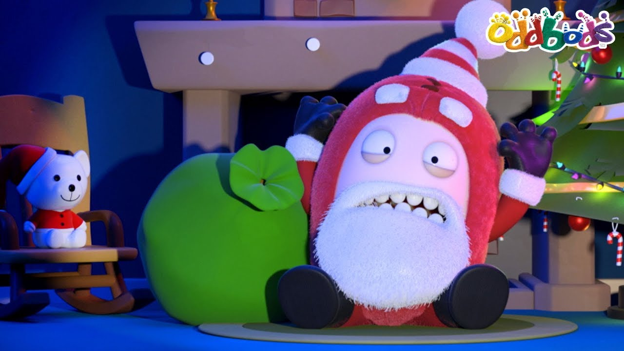 Oddbods | Santa Surprise | CHRISTMAS Cartoons For Kids