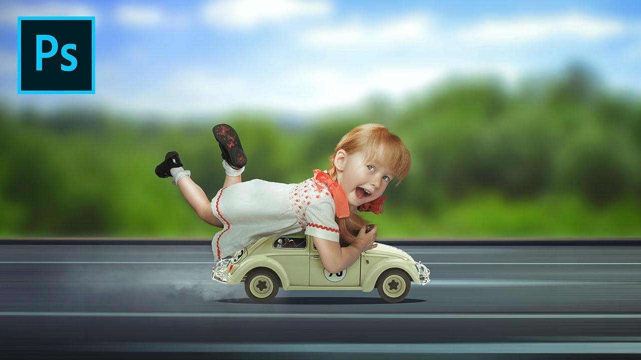 Photo Manition Tutorial Funny Mini Cars