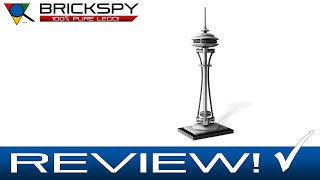 LEGO Seattle Space Needle 21003 - Review