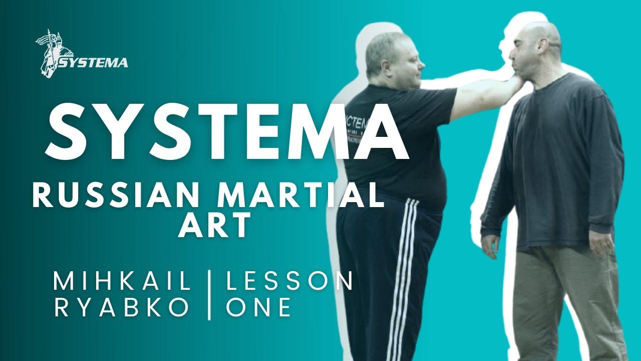 Systema Russian Martial Art Lesson on Strikes. Ryabko