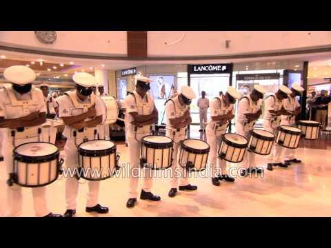 Indian Navy drums up a Select CityWalk storm : appealing to the retail generation