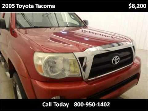 2005 Toyota Tacoma Used Cars Strasburg ND - YouTube