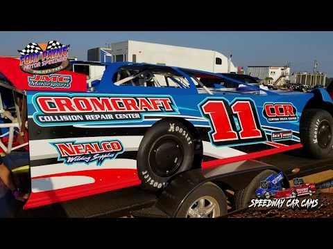 #11 Jay Cromer - Sportsman - 8-11-18 Fort Payne Motor Speedway - In Car Camera