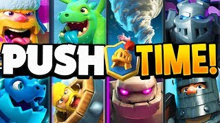 EASY GOLEM Trophy Pushing Deck for CHAMPIONS League in Clash Royale!