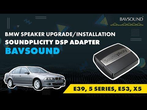 BMW Speaker Upgrade/Installation | E39, 5 Series, E53, X5 | BAVSOUND Soundplicity DSP Adapter