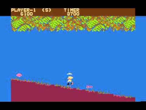 Jungle Hunt arcade for the Atari 8-bit computer