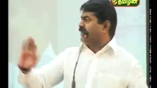 Seeman speech @ MGR & Periyar memorial day