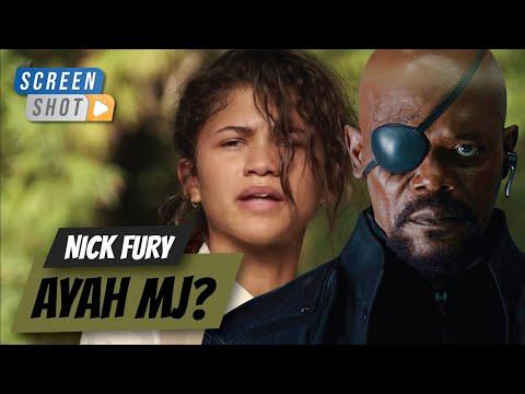 Nick Fury adalah ayah MJ? - Penjelasan Teori Spider-Man Far From Home