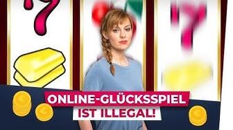 Online-Glücksspiel ist illegal!