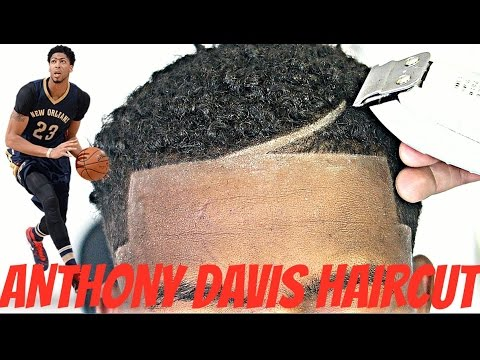 BARBER TUTORIAL : ANTHONY DAVIS HAIRCUT HD !