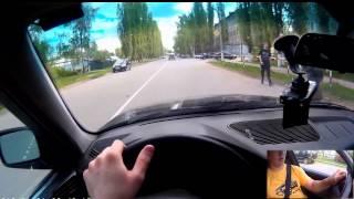 видео вождение по москве 1