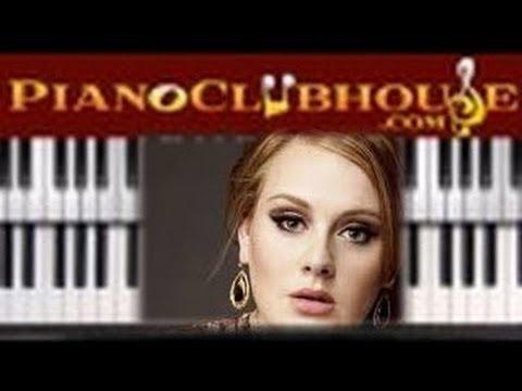 🎹  Adele - Rumour Has It (easy Piano Lesson Tutorial)