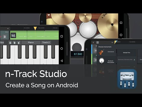 Create A Song On Android | N-Track Studio