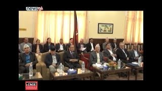 नेकपा अध्यक्ष पुष्पकमल दाहाल सक्रियताबारे बहस - NEWS24 TV