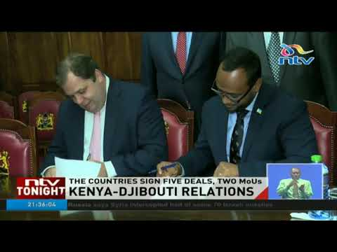Kenya and Djibouti sign five deals and two MoUs