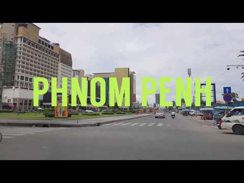 Travelling and sightseeing in Phnom Penh City, Cambodia