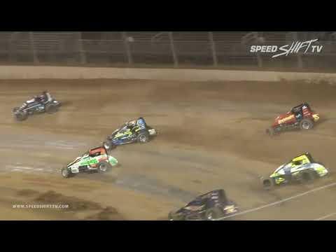 "USAC ""Indiana Sprint Week"" Highlights | Lawrenceburg Speedway 7.22.18"